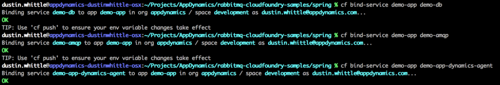 Cloud Foundry CLI