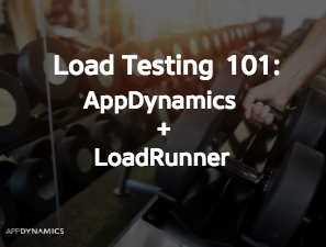 How to use AppDynamics with LoadRunner for Load Testing
